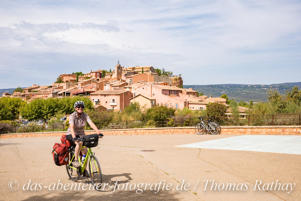 Roussillon die Stadt im Ocker