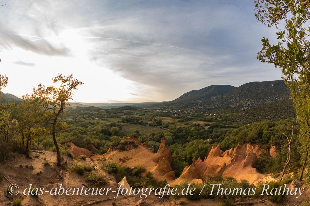 Aufgelassener Ockerbruch in der Provence