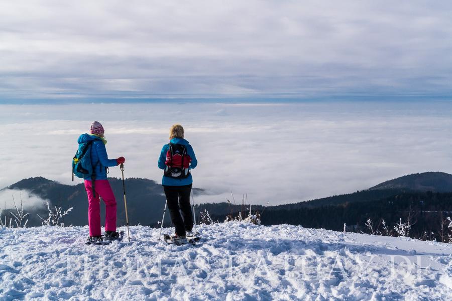 Schneeschuhwanderung im Schwarzwald