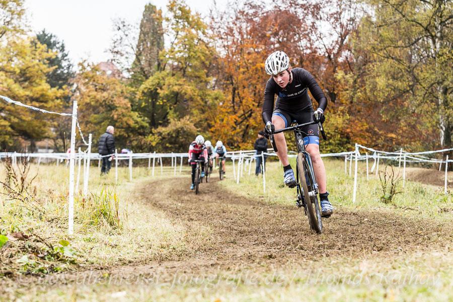 Radcross Wettkampf 2016 in Stuttgart-Vaihingen