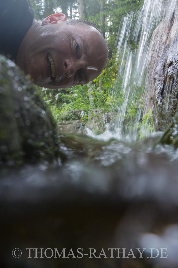 Unterwassertest