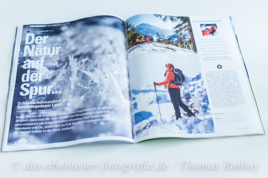 Reisewelt Alpen Magazin Winter 2017
