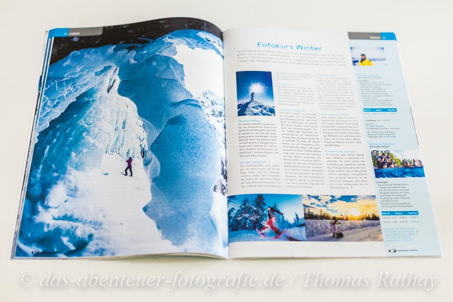 Rucksack Reisen WInter 2018 Schweden Fotokurs