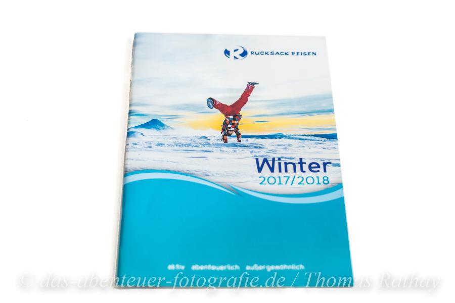 Rucksack Reisen Winterkatalogs 2018