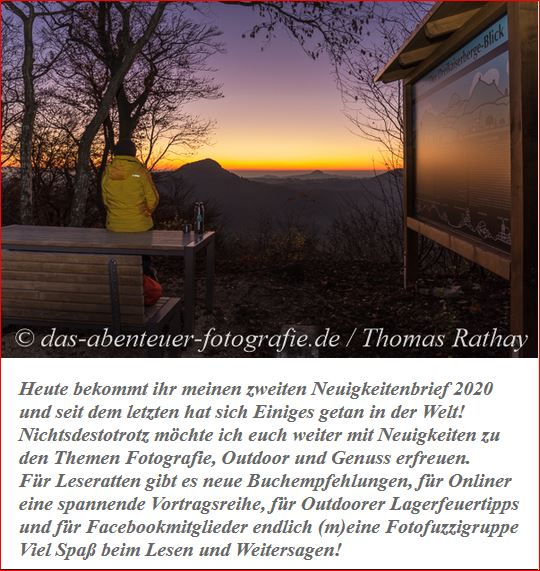 Neuigkeitenbrief Thomas Rathay
