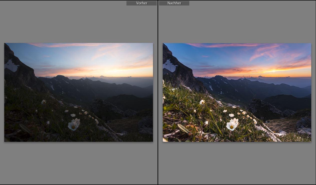 Beispiel fuer Bildoptimierung mit Lightroom